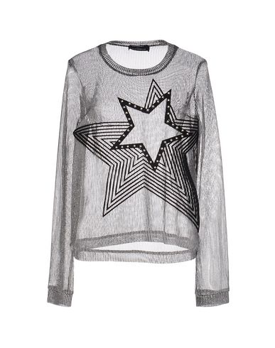 Anthony Vaccarello Sweaters In Silver