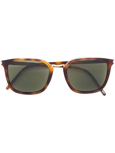 Saint Laurent D-frame Tortoiseshell Acetate Sunglasses In Brown