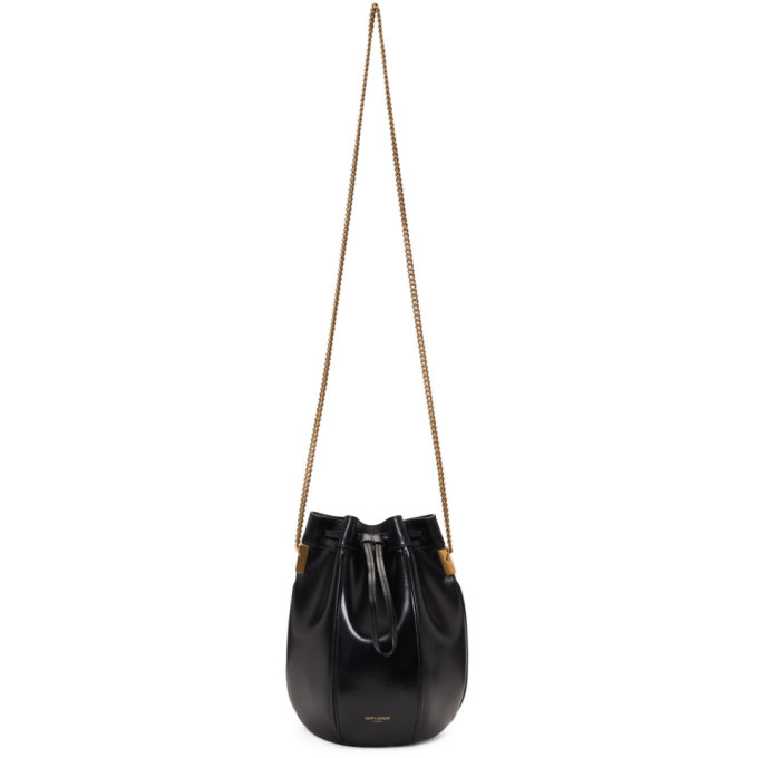 a41adca5adb6 Saint Laurent Black Small Talitha Bucket Bag In 1000 Black