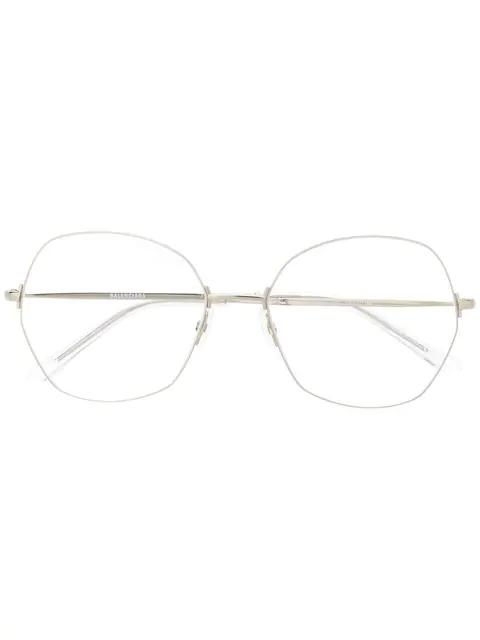 Balenciaga Bb0014o Eyeglasses In White