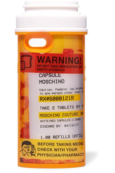 Moschino Pill Pot Iphone 6 Case In 1888 Multicoloured