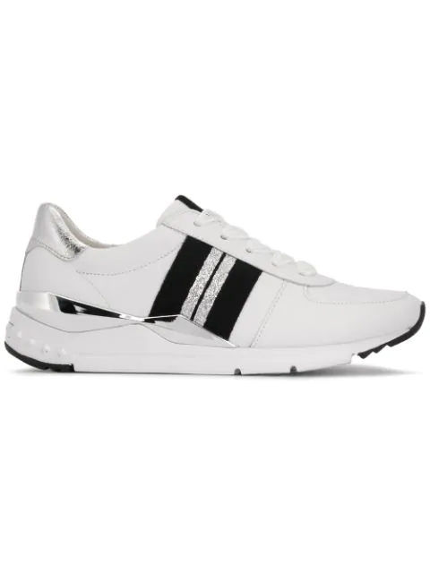 Kennel & Schmenger Mesh Lace Sneakers In White