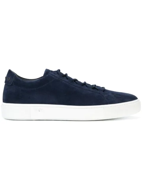 Tod's Suede Sneakers With Rubber Pebbles In 9998