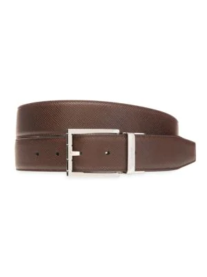 Bally Astor Reversible Leather Belt In Brown