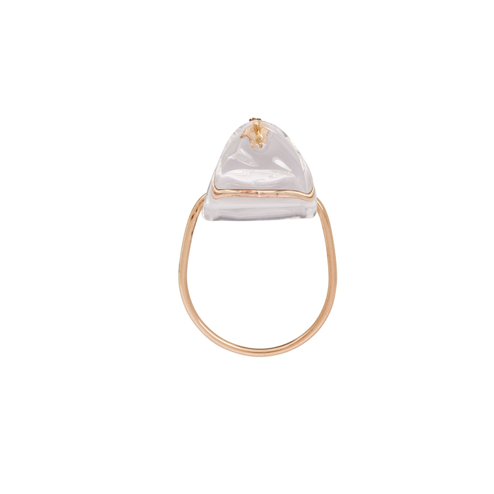 Annika Inez Embraced 14Kt Gold-Filled And Glass Earrings