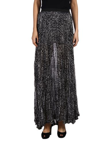 Enza Costa Maxi Skirts In Black
