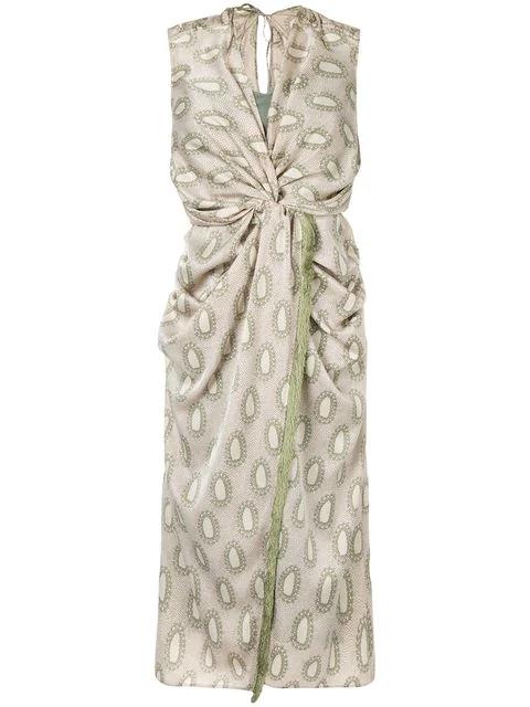 Muller Of Yoshiokubo Millor Dress In Green