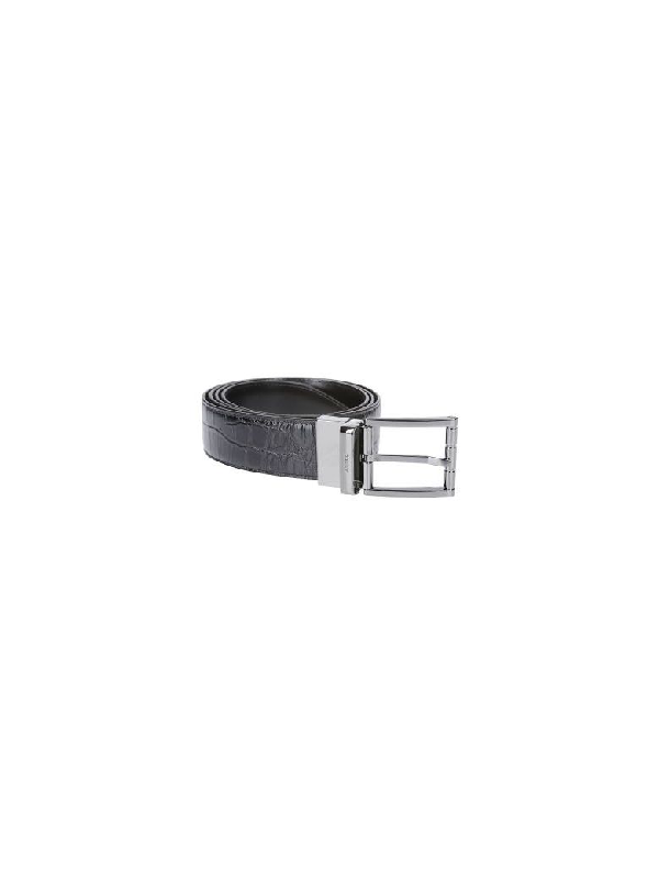 Bally Astor Belt In Black