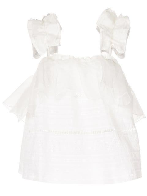 Aje 'Filomena' Top - Weiß In White