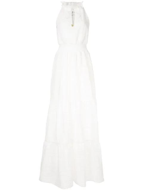 Aje 'Evangeline' Maxikleid - Weiß In White