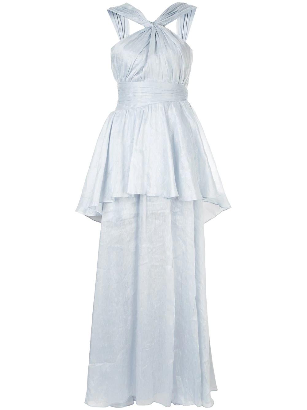 Aje Fraser Maxi Dress - Blue