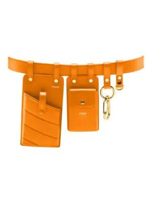 53a471f93a8 Fendi Utility Belt With Pockets In Papaya