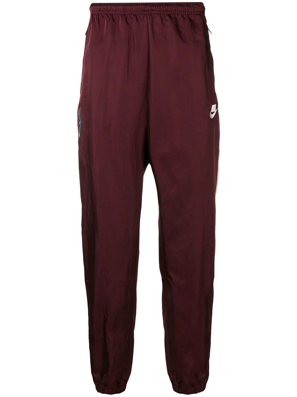 ae64f88b7238 Nike Running Track Style Trousers - Red