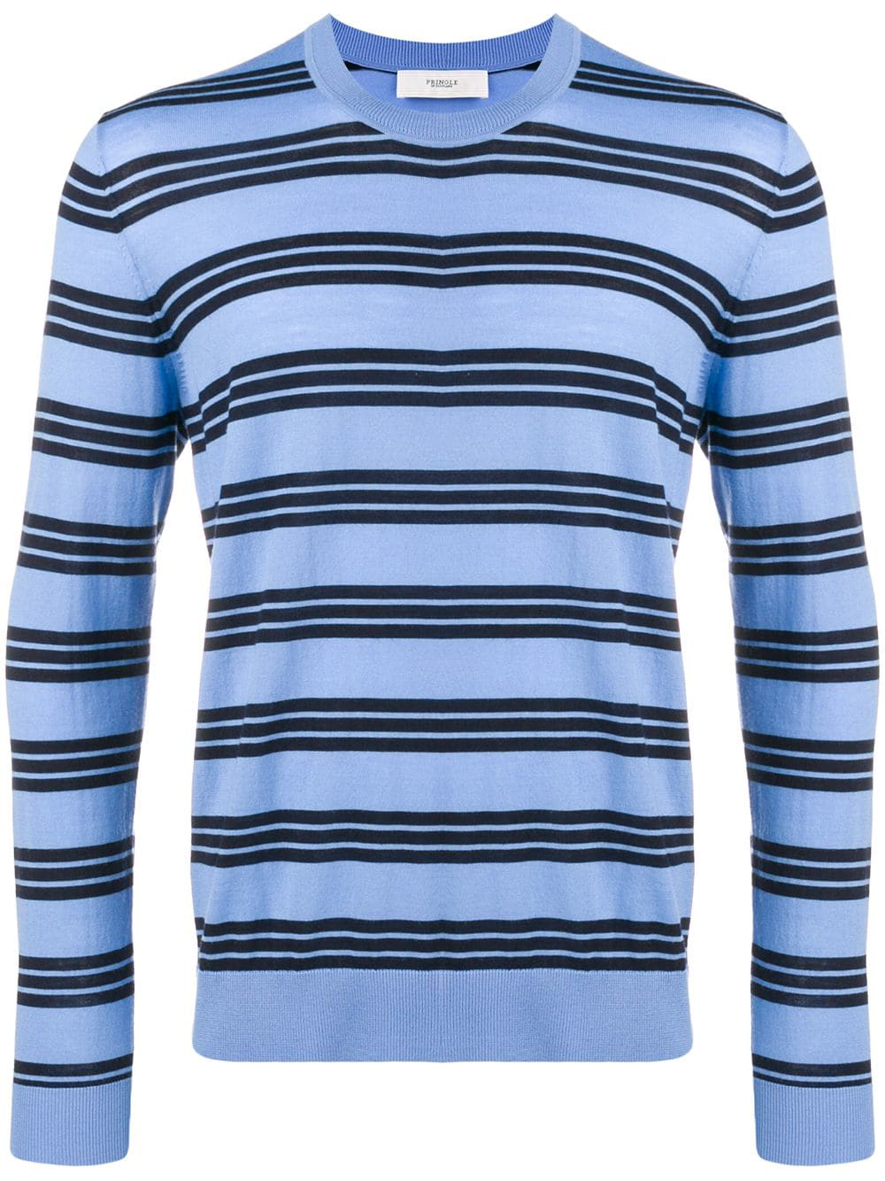 0cf1d42b958c7e Pringle Of Scotland Striped Pullover - Blue In Thh1 Woad/Ink | ModeSens