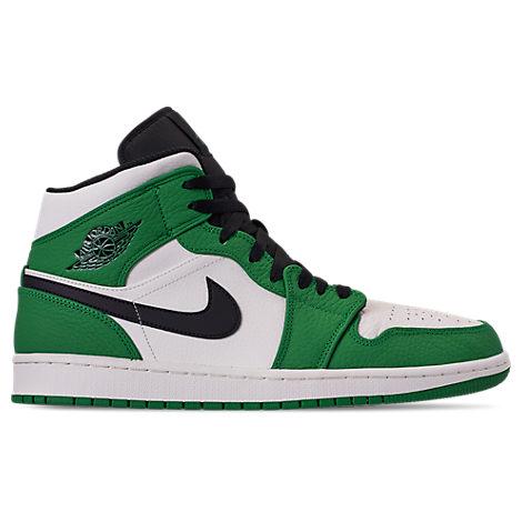 4ec38045e4 Nike Men's Air Jordan Retro 1 Mid Premium Basketball Shoes, Blue ...