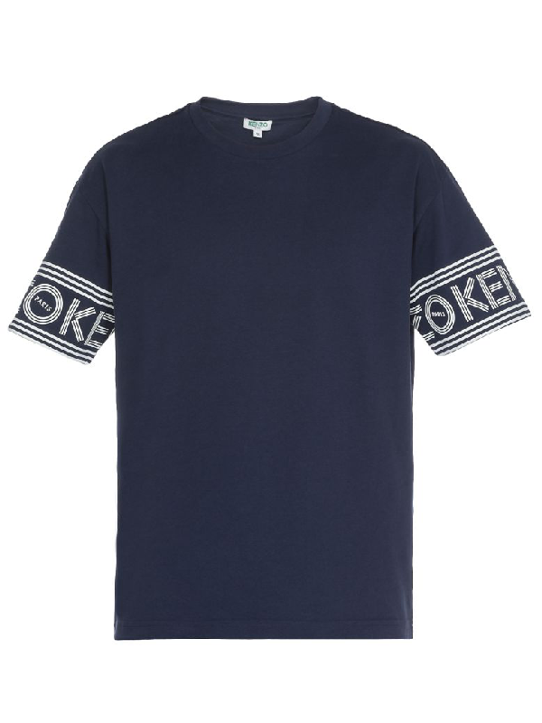 Kenzo Cotton T-Shirt In Ink