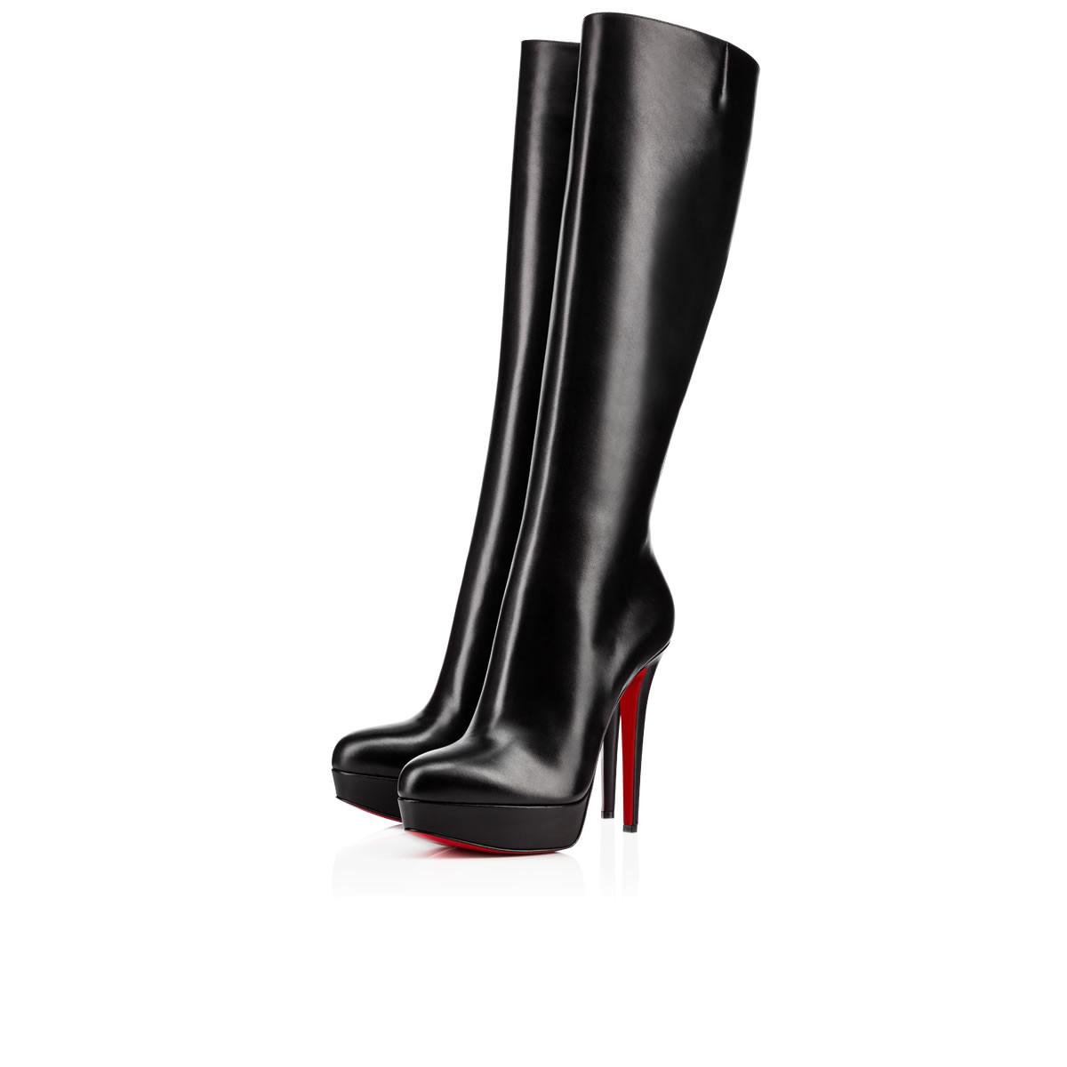 c07893574fb Bianca Botta Platform Red Sole Boot, Black
