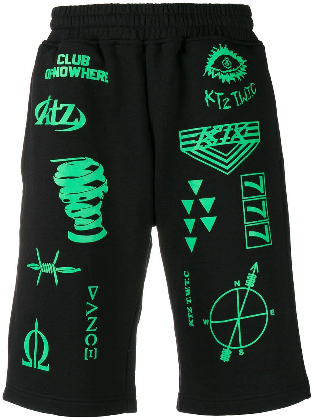 Ktz Scout Patch Shorts - Black