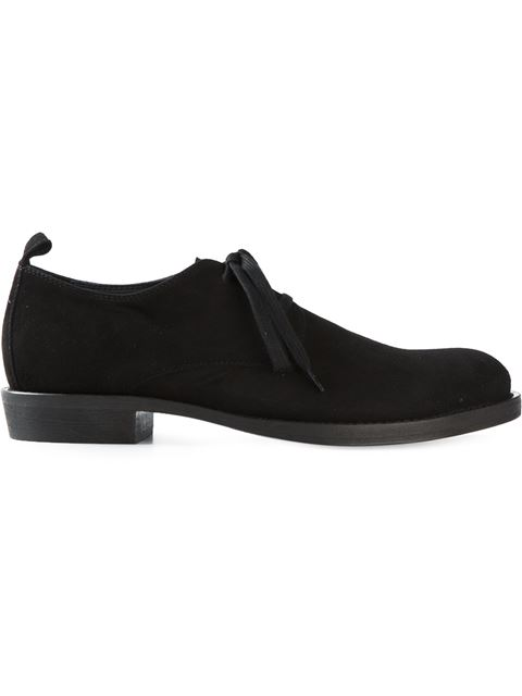 Ann Demeulemeester Classic Lace-Up Shoes In Black