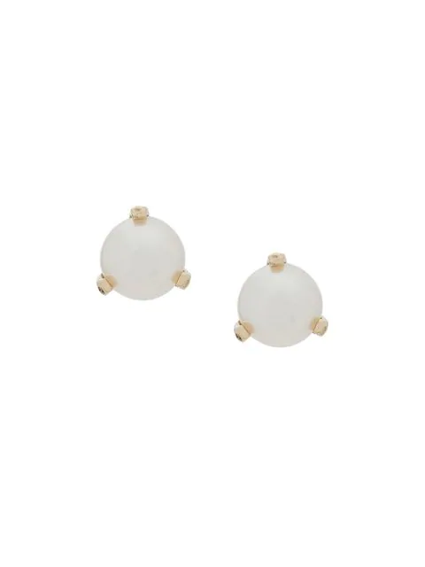 ZoË Chicco 14Kt Yellow Gold Pearl Studs