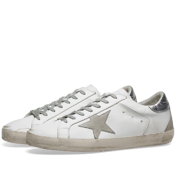 Golden Goose Superstar Leather Sneaker In White