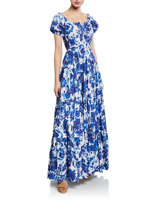 28a3b516b8 White Maxi Dress With Short Sleeves - Data Dynamic AG