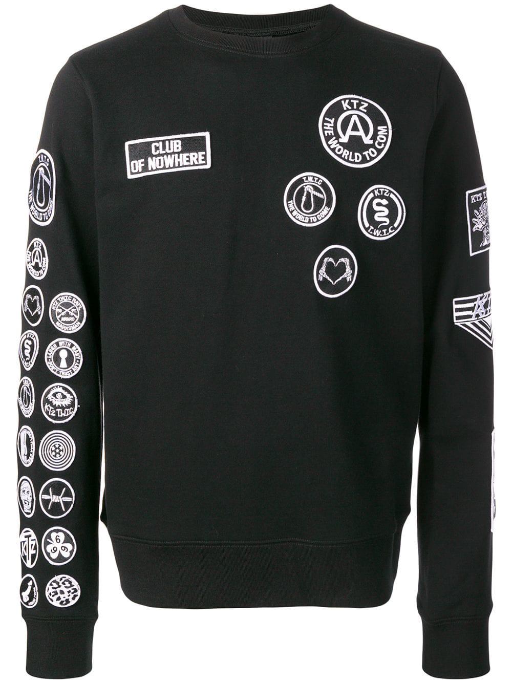 Ktz Scout Patches Sweatshirt - Black