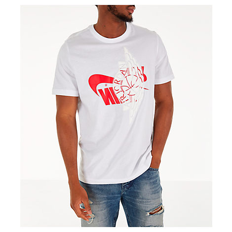 40cc0eba Nike Men's Jordan Futura Wings T-Shirt, White | ModeSens