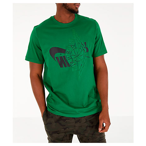 classic styles exclusive shoes competitive price Jordan Men's Jordan Futura Wings T-Shirt, Green - Size Large