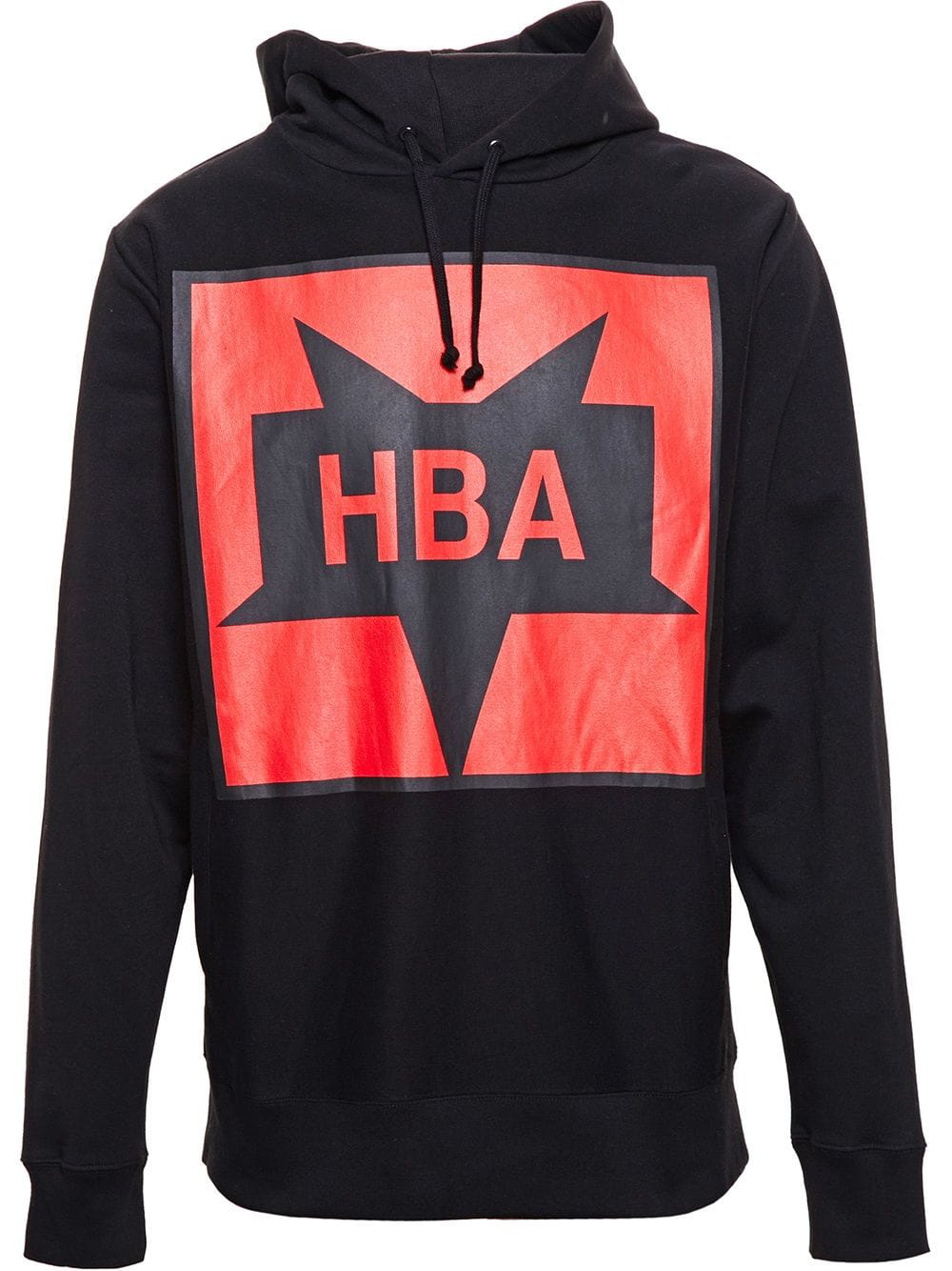 Hood By Air Logo Print Hoodie In Black