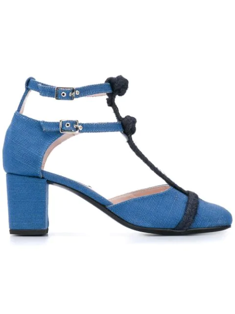 Leandra Medine Rope T In Blue