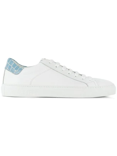 Hide & Jack Low Top Trainers In White