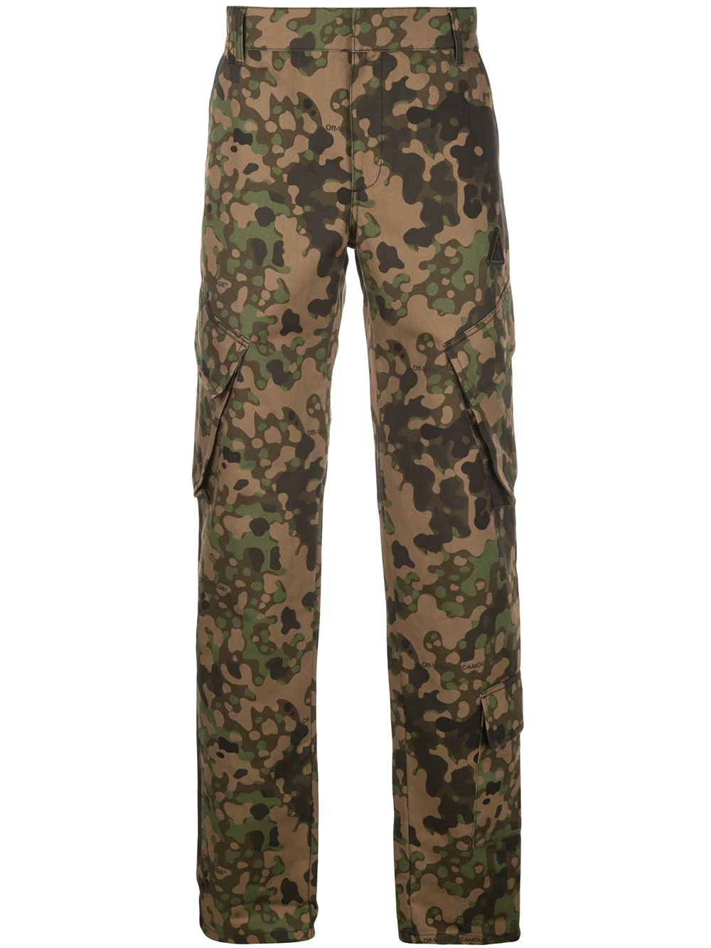 db291a4a723 Off-White Camouflage Cargo Trousers - Farfetch In Green   ModeSens