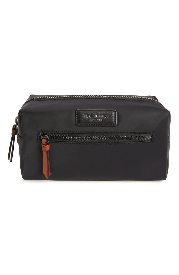 Ted Baker Blueye Travel Kit In Black