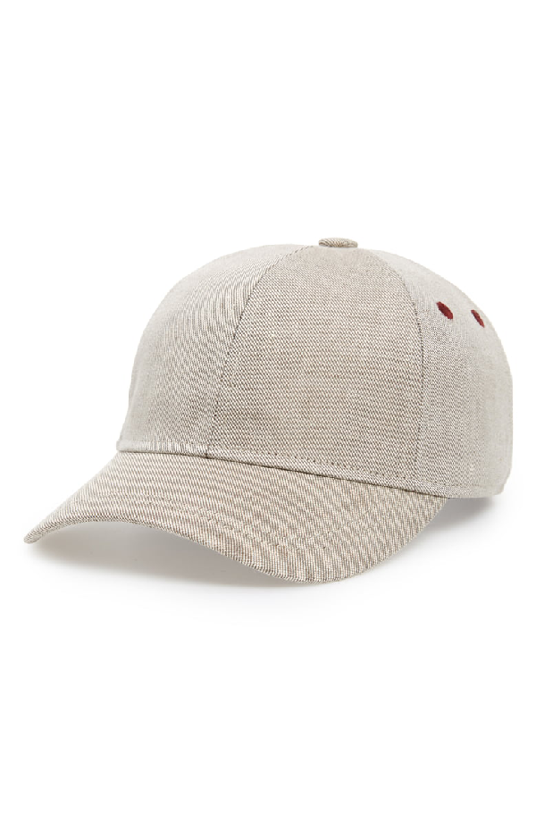 623aab6f108415 Ted Baker Eccles Coated Linen Baseball Cap In Taupe | ModeSens