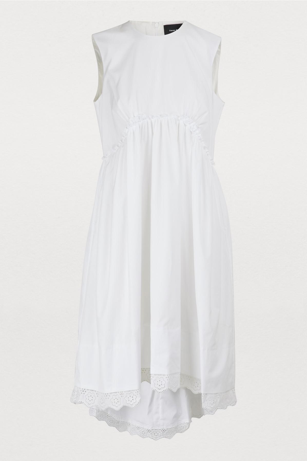 41acd9ca2867 Simone Rocha Babydoll Sleeveless Dress In White | ModeSens