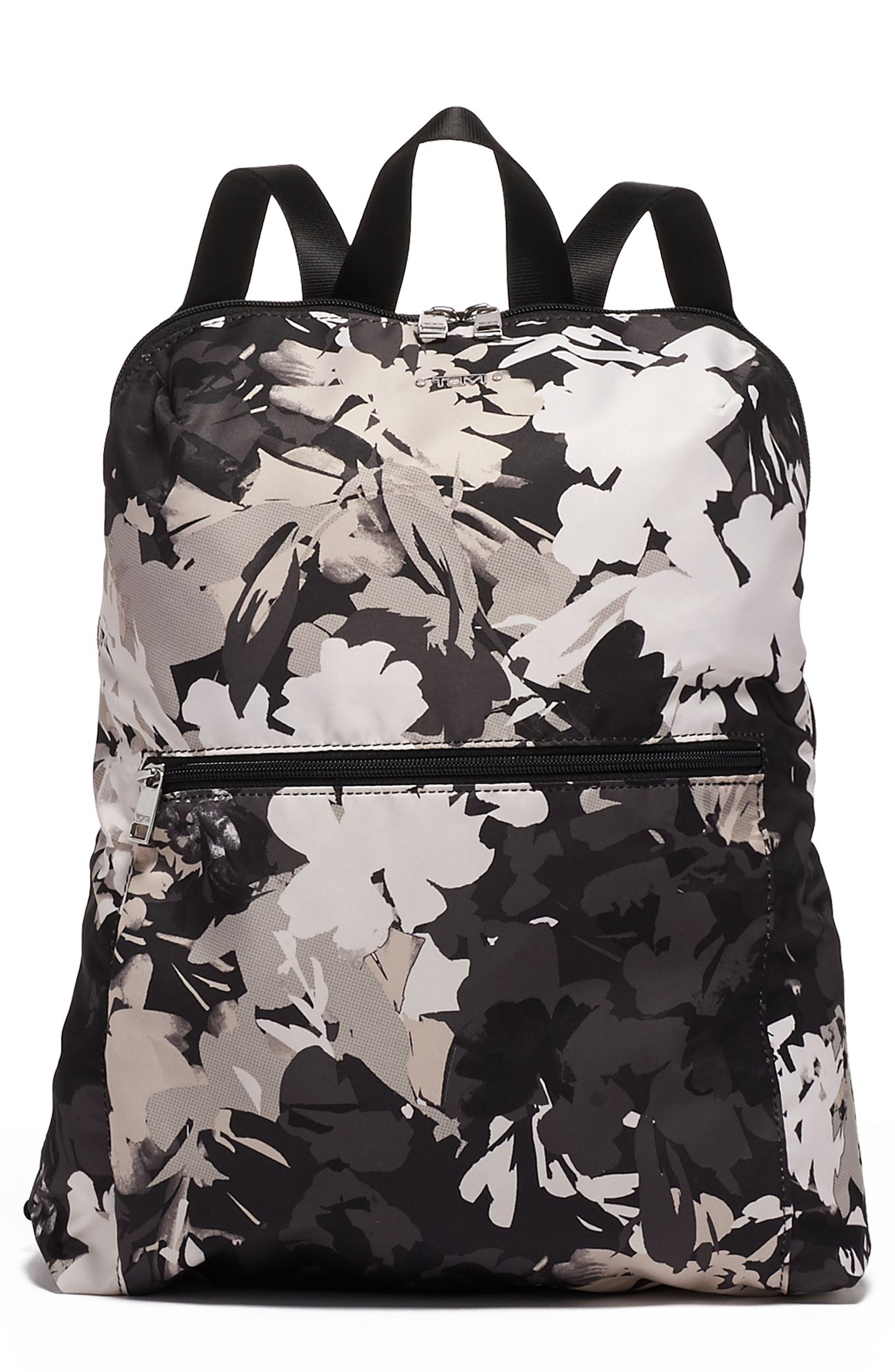 8d80515e20 Tumi Voyageur - Just In Case Nylon Travel Backpack - Black In African Floral