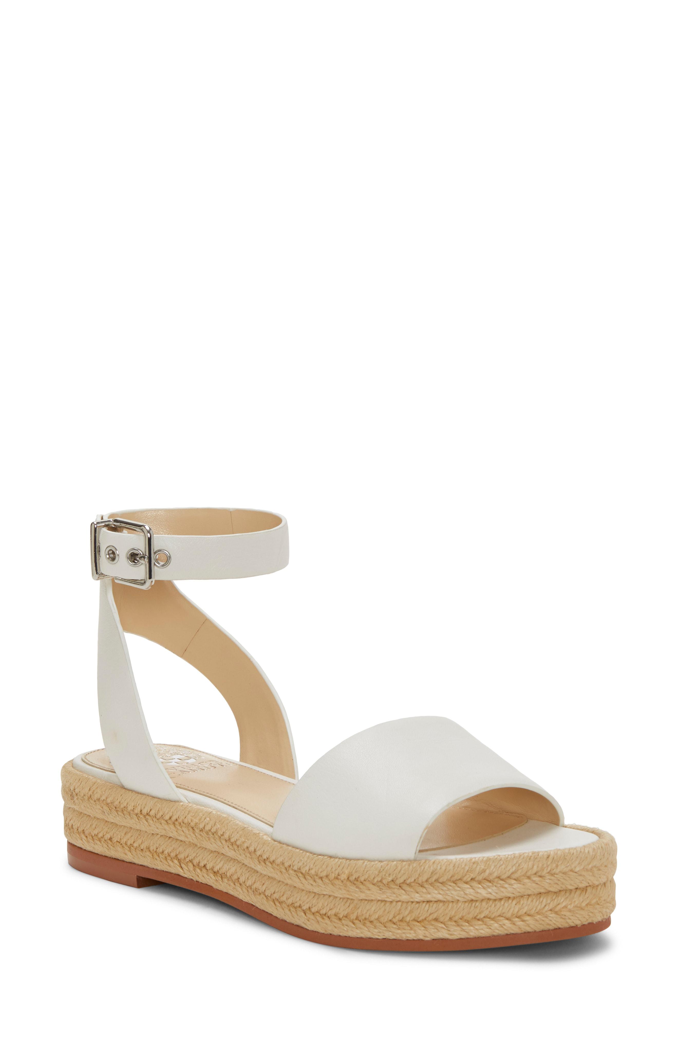 e9eb2644d3 Vince Camuto Kathalia Platform Sandal In Pure Leather | ModeSens
