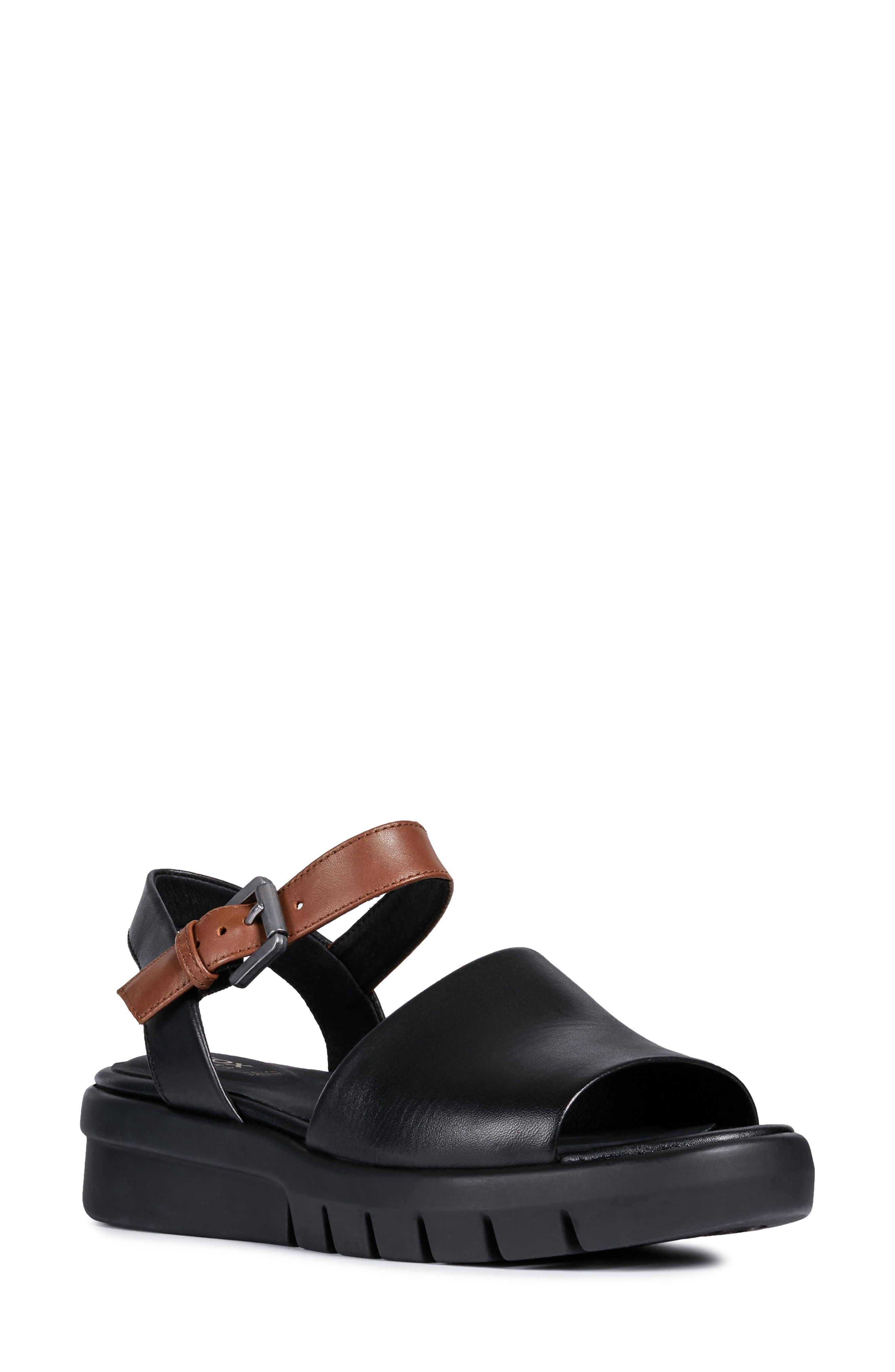 1051df20ee1 A bold platform sandal is made with a signature Respira sole for  ventilation and a waterproof membrane that keeps underfoot moisture from  seeping in.