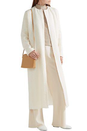 The Row Pamie Linen-blend Bouclé Coat In Cream
