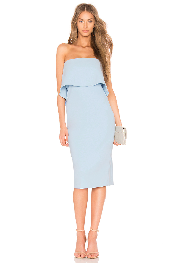 Likely Driggs Strapless Cocktail Dress In Blue Bell