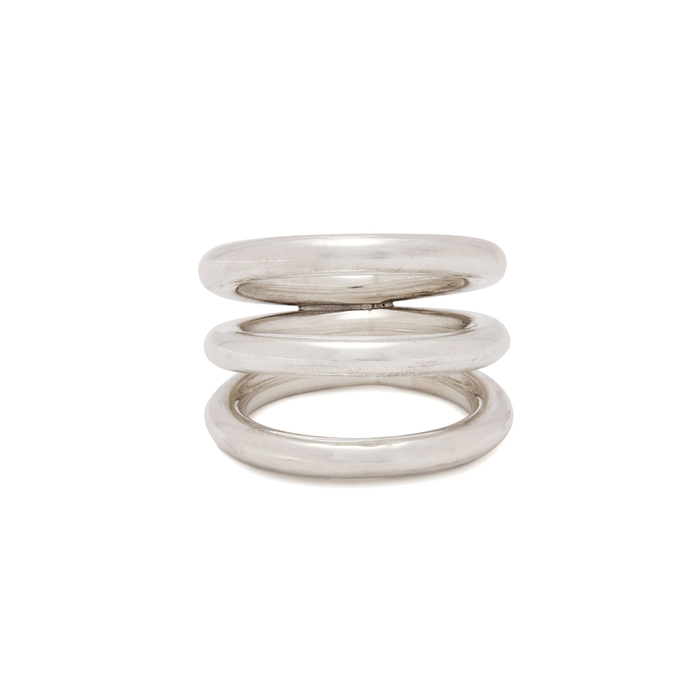 Annika Inez Thrice Around Sterling Silver Ring