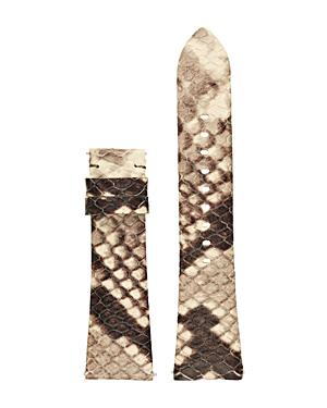 Michael Kors Bradshaw Leather Watch Strap, 22mm In Brown