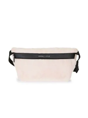 Kendall + Kylie Lincoln Fanny Pack In Blush