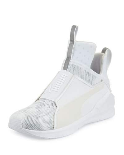 62a904bebc27c0 Puma Fierce Mesh High-Top Sneaker, White | ModeSens