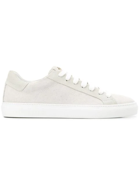Hide & Jack Low Top Trainers In Neutrals