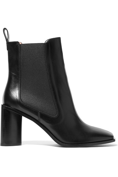 77f0a5ecaa1 Bethany Leather Ankle Boots in Black