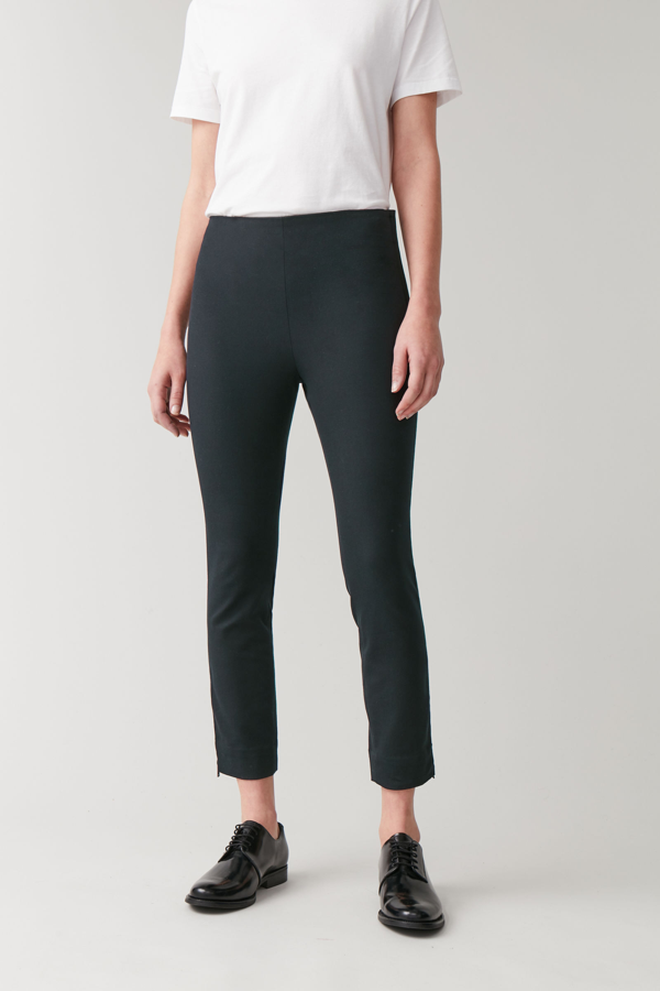 Cos Skinny Legging Pants In Black
