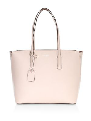 Kate Spade Large Margaux Leather Tote In Vellum