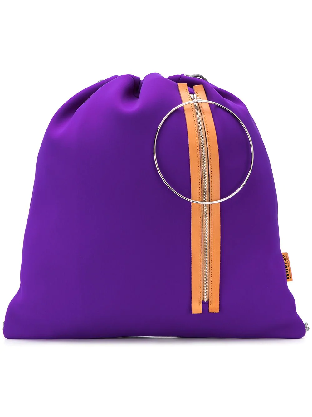 6ec64faf22 Mm6 Maison Margiela Drawstring Backpack - Purple